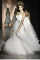 white David Fielden dress