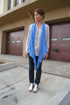 Urban Renewal top - necessary clothing top - Zara top - Express jeans