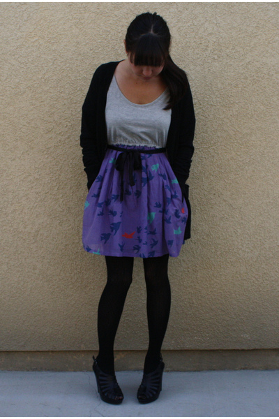 Modern Amusement dress - Forever 21 sweater - asos shoes - Forever 21 tights