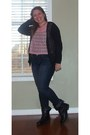 Madden-girl-boots-american-eagle-jeans-dream-out-loud-cardigan