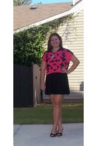 Forever 21 shirt - cotton on dress - Fionia heels