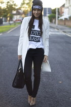 Topshop jeans - Celine bag - harper and mason top