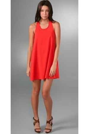 red Alice  Olivia dress