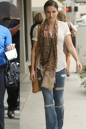 scarf - scarf - jeans