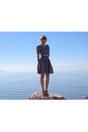 handmade dress - Lotta from Stockholm clogs - Target belt