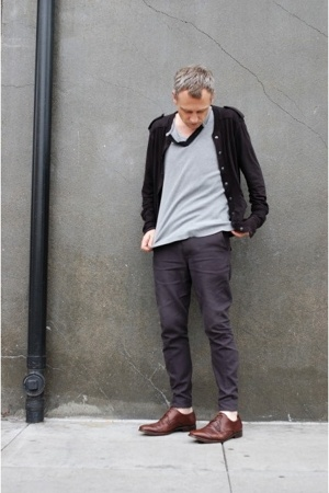 Nom D jacket - zambesi top - Endovanera pants - Ermenegildo Zegna shoes