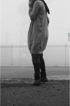 nomd scarf - raf by raf simons sweater - aa shirt - h&m X biz shorts - 2xist tig