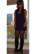 Talula dress - Chinese Laundry shoes - H&M socks - silks tights