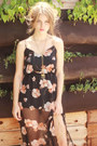 Floral-chiffon-hardcouture-dress-gold-chain-hardcouture-necklace