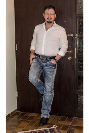 hm shirt shirt - deichmann Shoes shoes - new yorker Jeans jeans