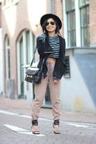River Island top - PROENZA SCHOULER bag - Camilla Skovgaard heels