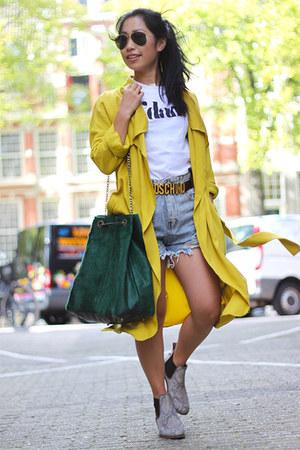 Sheinside shorts - pull&bear top