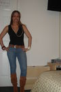 Orange-michael-kors-boots-black-inc-macys-shirt-blue-forever-21-jeans-oran