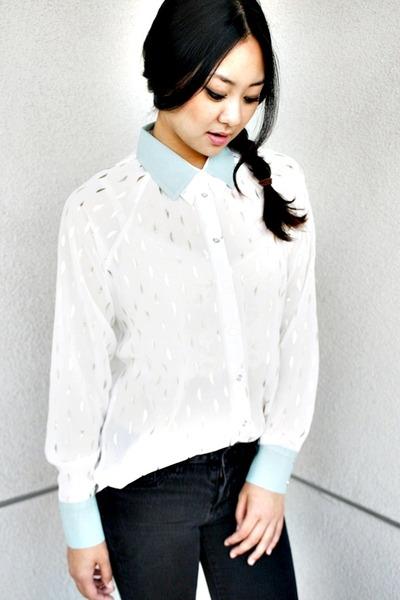 mono B blouse
