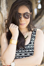 Black-vaunt-sunglasses-red-v-couture-by-kooba-bag-white-true-religion-shorts