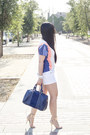 Navy-leather-sole-society-bag-true-religion-shorts-shoplately-sunglasses