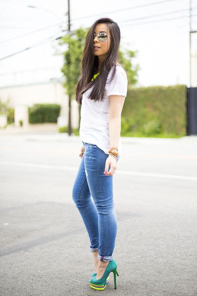 clinton skinny Rich & Skinny jeans - shoplately bag