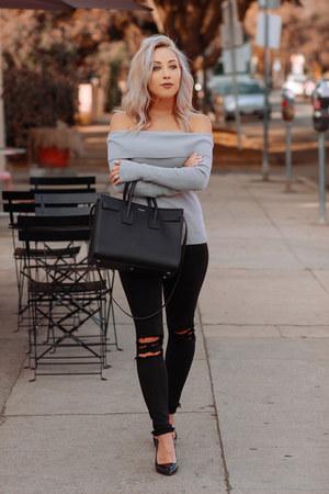 silver Chicwish sweater