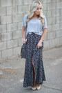 Silver-oversized-forever-21-t-shirt-dark-gray-high-waisted-angl-skirt