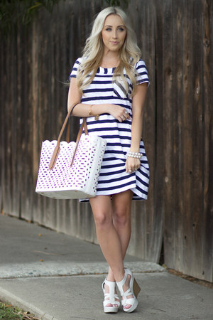 navy t shirt dress Forever 21 dress