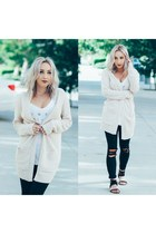 off white Urban Outfitters cardigan
