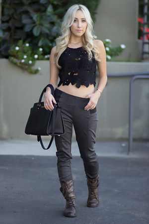 Charcoal Gray Leggings - How to Wear and Where to Buy | Chictopia