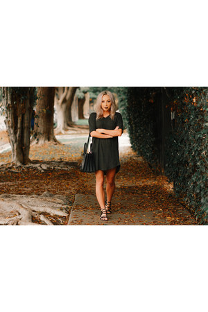 gray t-shirt Urban Outfitters dress
