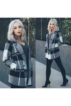 gray tartan sammydress coat