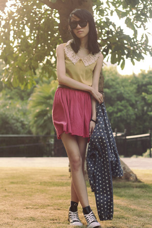 Topshop jacket - Zara skirt