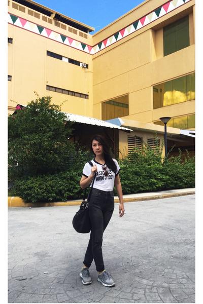 H&M jeans - H&M t-shirt