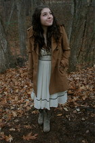Mia boots - Forever 21 dress - threadsence jacket