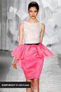 bubble gum Jason Wu skirt