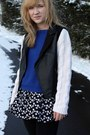 Off-white-diy-jacket-black-forever-21-dress-blue-zara-sweater