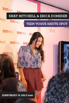 Shay Mitchell at the Teen Vogue Haute Spot!