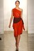 Carrot-orange-dress