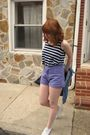 Blue-levis-jacket-blue-forever-21-top-purple-shorts-white-keds-shoes