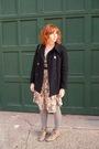 Black-vintage-coat-gray-vintage-dress-gray-vintage-tights-beige-vintage-bo