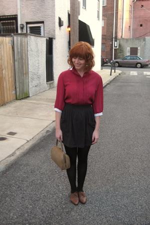 blouse - American Apparel skirt