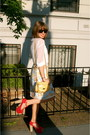 Ruby-red-jeffrey-campbell-shoes-white-h-m-shirt-yellow-nine-west-bag-roxy-