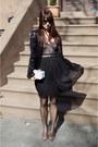 Black-urban-outfitters-skirt-forever21-bodysuit