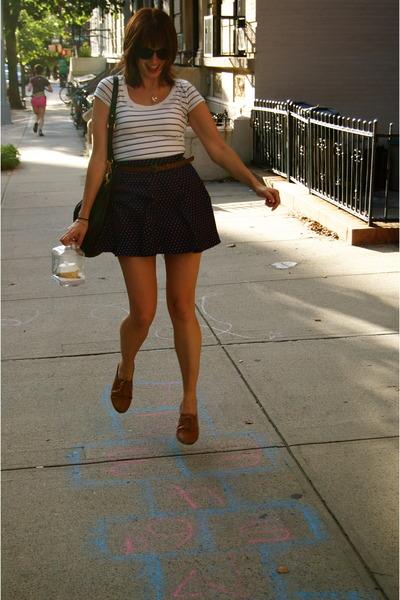 Forever21 skirt - light brown Aldo shoes - Target shirt