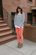 Forever21 jeans - tan Jeffrey Campbell shoes