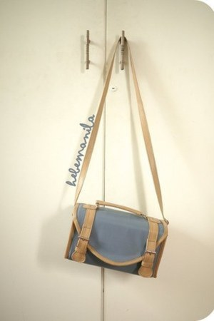leather box bag Hebe bag