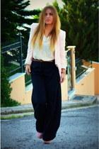 pink blazer Zara blazer