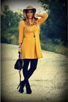 H&M hat - Topshop heels