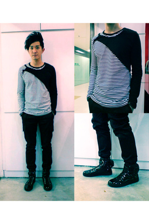 top - CK Calvin Klein pants - Raf Simons shoes
