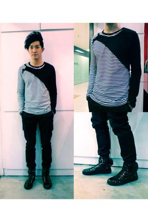 top - CK Calvin Klein pants - Raf Simons shoes