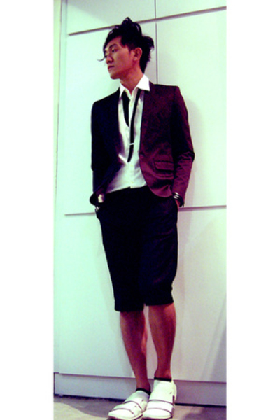 hare blazer - hare shirt - UnbilicalTokyo Bopper shoes