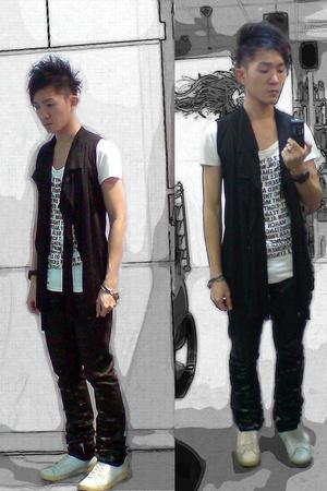 dior homme jeans - Indu Homme t-shirt - dior homme shoes - Goti bracelet - Bell