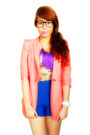 Bubble-gum-zoo-shop-blazer-blue-bazaar-shorts-cream-sm-dept-store-top